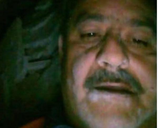 Antes de ser rescatado, Martín se tomó una selfie
