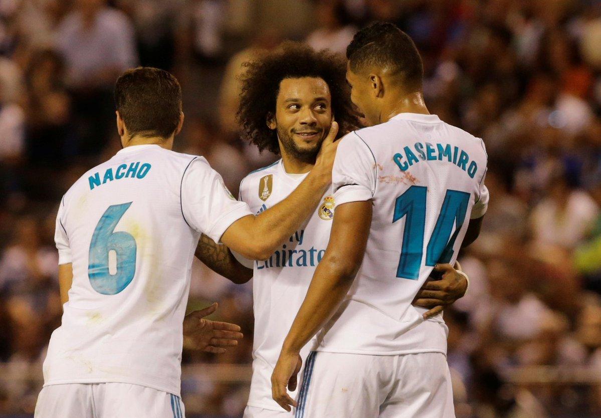 El golazo del Real Madrid, luego de 44 toques