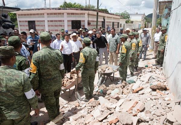 Declaran en desastre 306 localidades